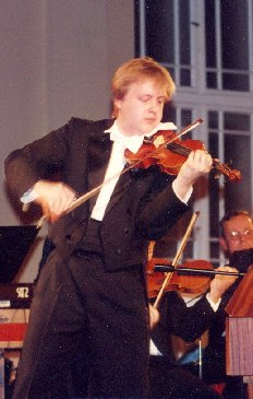 At the Prague Žofín, I appeared with the orchestra Virtuosi Pragenses, 1997
