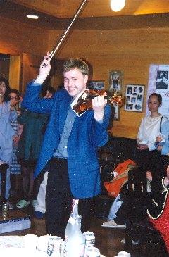 Violinist Pavel Eret - violin solo, 1999
