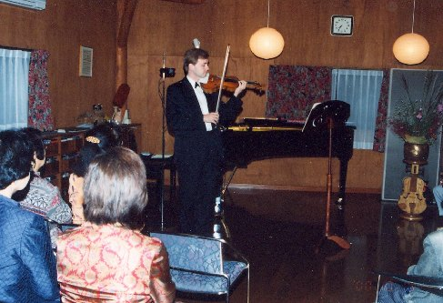 The Japanese are particular about home concerts, 2000