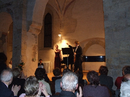 2007-Concert-in-the-St.-Vavrinec-Church-Pavel Eret Suzanna Hlinka