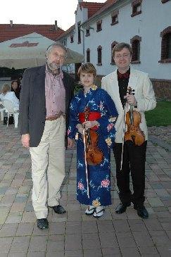 Pavel Eret, Věra Eretová and Jaroslav Vodňaský, 2006
