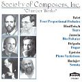 Society of Composers, Inc. (Chamber Works)